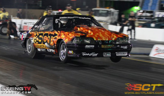 Sponsored Car NMRA Super Bowl Mustang Murillo