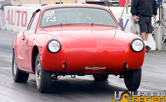 VW USA Sponsored Car Karmann Ghia Brenden Mosher