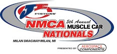 NMCA Muscle Car Nationals Milan Dragway Ford Drag Racing