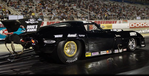 Thorton Sponsored Car PSCA Pro Street Event Corvette
