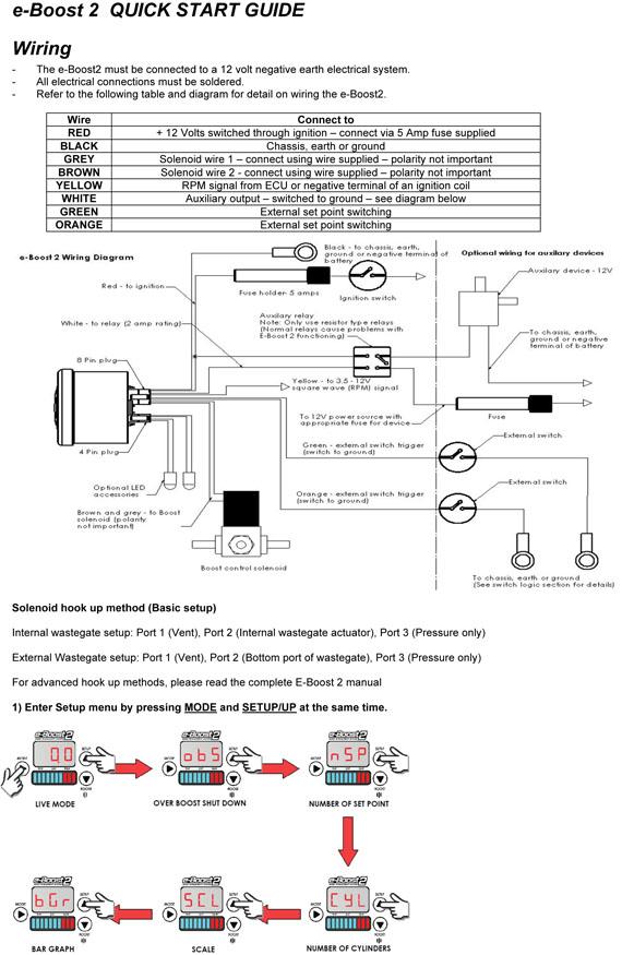e boost2 quick start guide turbosmart international step 2 6