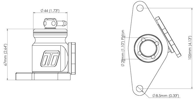 new turbosmart kompact plumb back bov  wrx  sti  forester