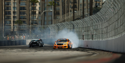 Formula DRIFT round one wraps up in Long Beach, California