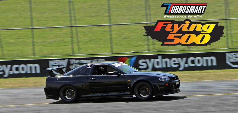 Turbosmart Flying 500 Entrant: Birrong Automotive's R34 GTR