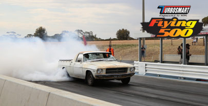 Turbosmart Flying 500 Entrant: John Di Mauro's Farm Ute