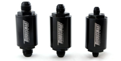Turbosmart releases new billet fuel and turbo oil feed filters, oil drains and flange adapters
