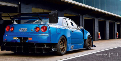 Banzai Magazine's feature on Matt Longhurst's Time Attack R34 GT-R