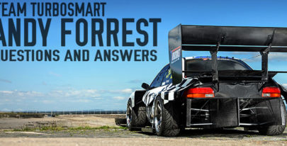 TEAM TURBOSMART Q&A: Andy Forrest