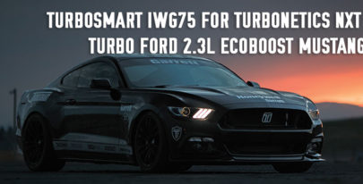 Turbosmart IWG75 for Ford 2.3L Ecoboost Mustang 2015  Turbonetics NXT Turbo